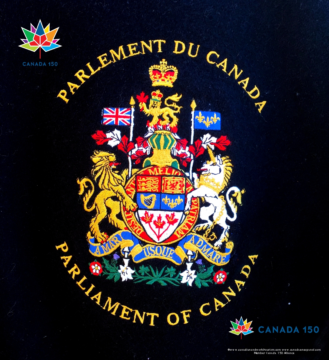 canada coat of arms 1 day to canada u0027s 150th canada150photo no