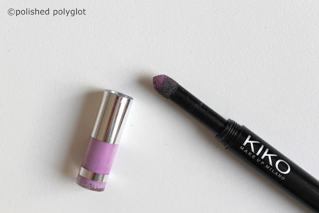 Shopping Makeup Haul  Kiko Milano Eyetech look eyeshadow