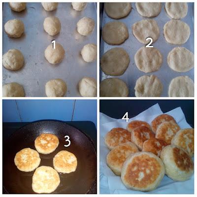 cara membuat roti gepeng praktis dan enak