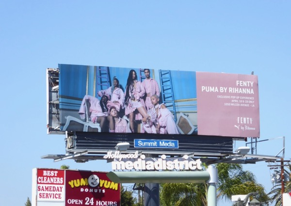 Fenty Puma Rihanna 2017 billboard