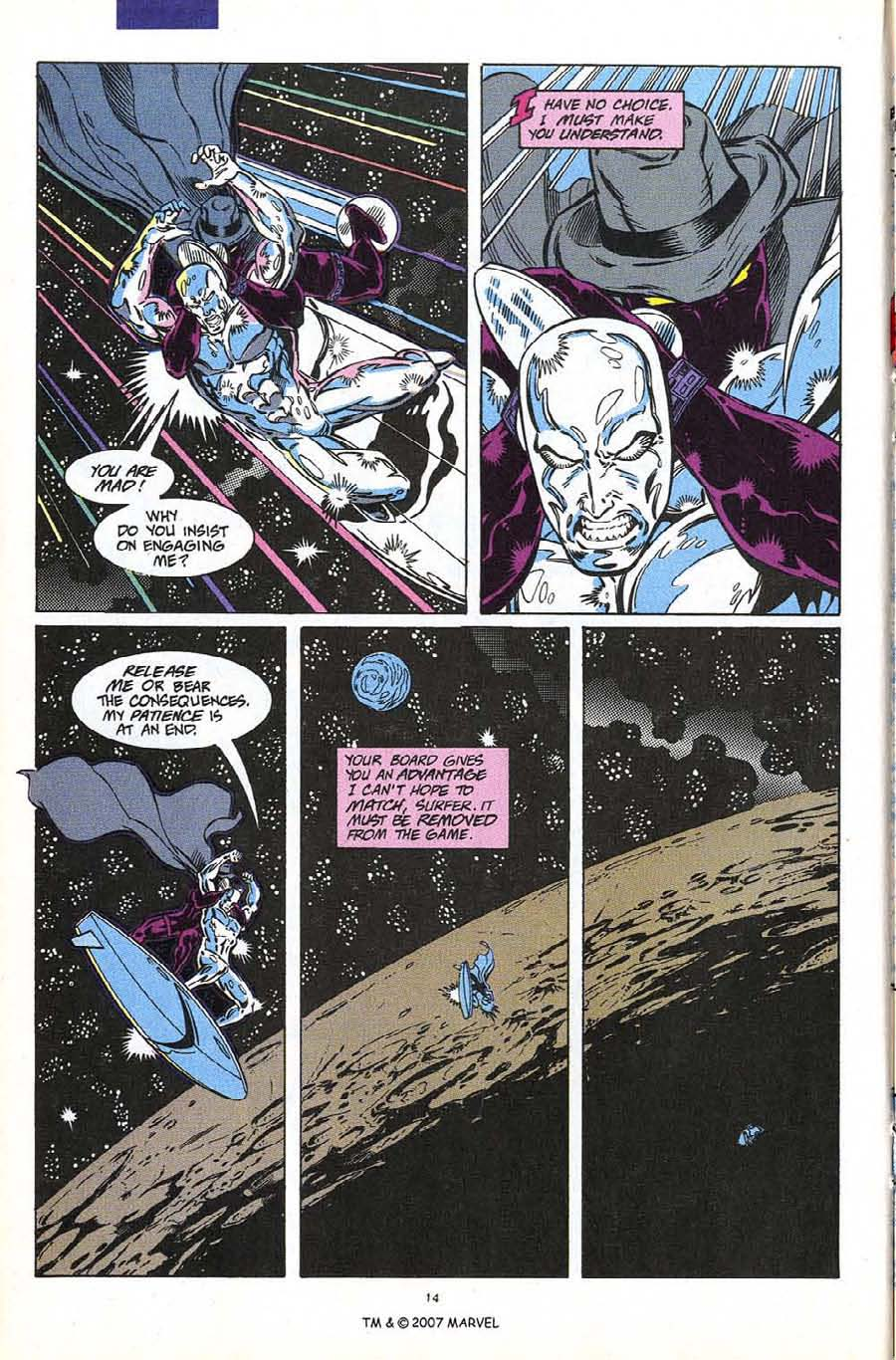 Read online Silver Surfer (1987) comic -  Issue #60 - 16