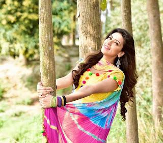 Bidya Sinha Saha In Yellow Dress