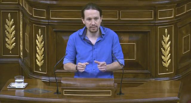 Pablo Iglesias avisa al Gobierno de que forzará un referéndum
