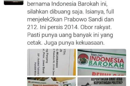 Menjijikkan! 161 Masjid Di Magelang Dikirimi Tabloid Hoax 'Indonesia Barokah'