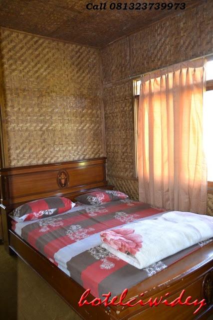 Berwisata dan menginap di cottage kawah putih dari sukoharjo