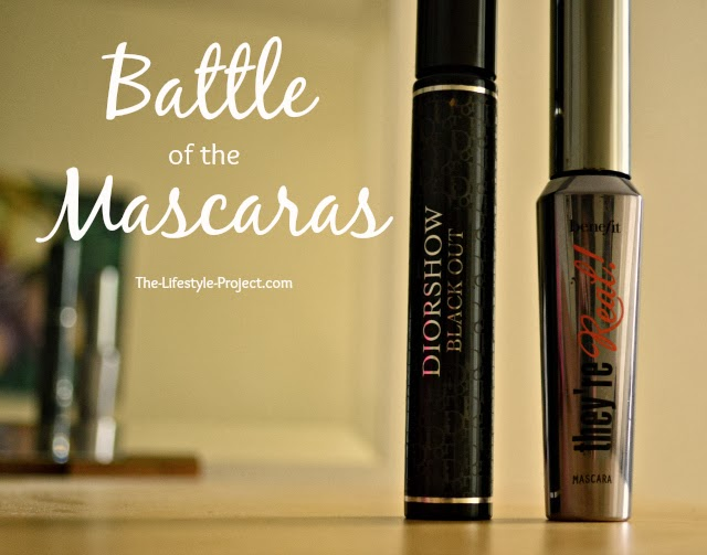 Battle of the Mascaras - Which one is better, Diorshow or They're Real?