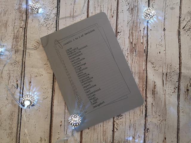 A - Z notebook