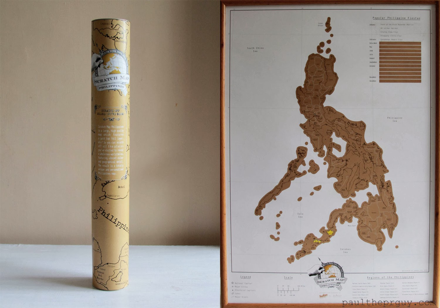 3acdb8eb37 So you can scratch off all the places you've visited to reveal a whole new  map below! The result is a totally unique and personalized Philippines map!