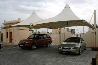 اجمل صور مظلات السيارات Car-park-shade-in-Abu-Dhabi