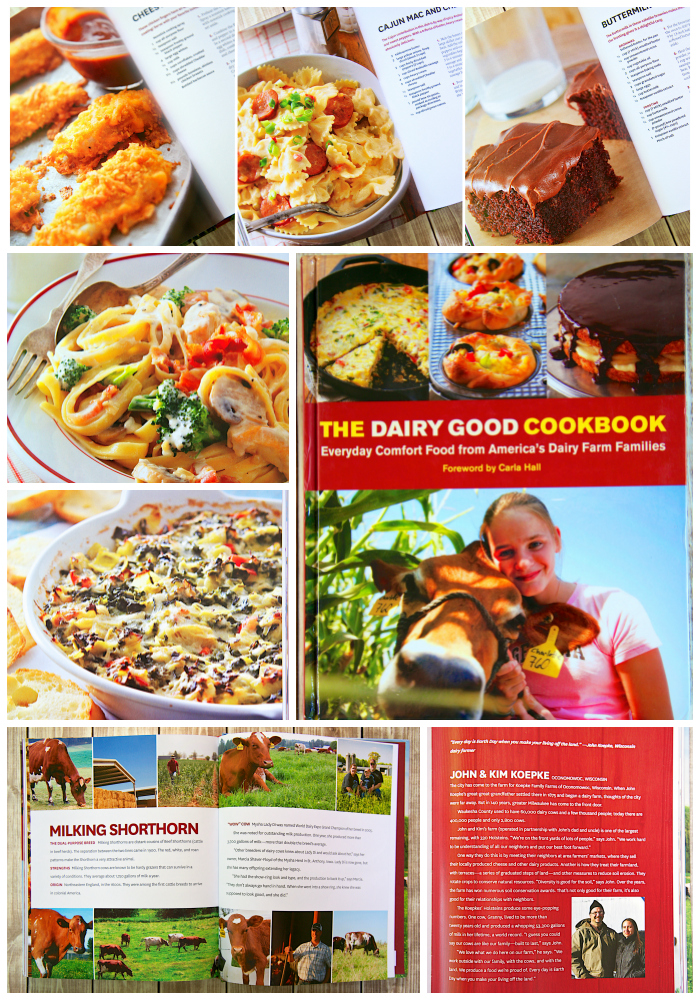 Giveaway for The Dairy Good Cookbook and a $75 gift card! SO many amazing recipes! You don't want to miss this!!
