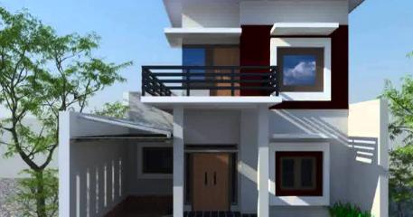 denah rumah minimalis 2 lantai 6x12 - hardworkingart