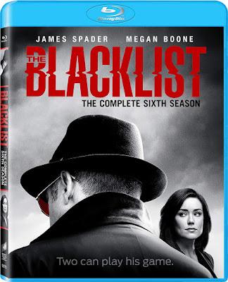 Blacklist Season 6 Bluray