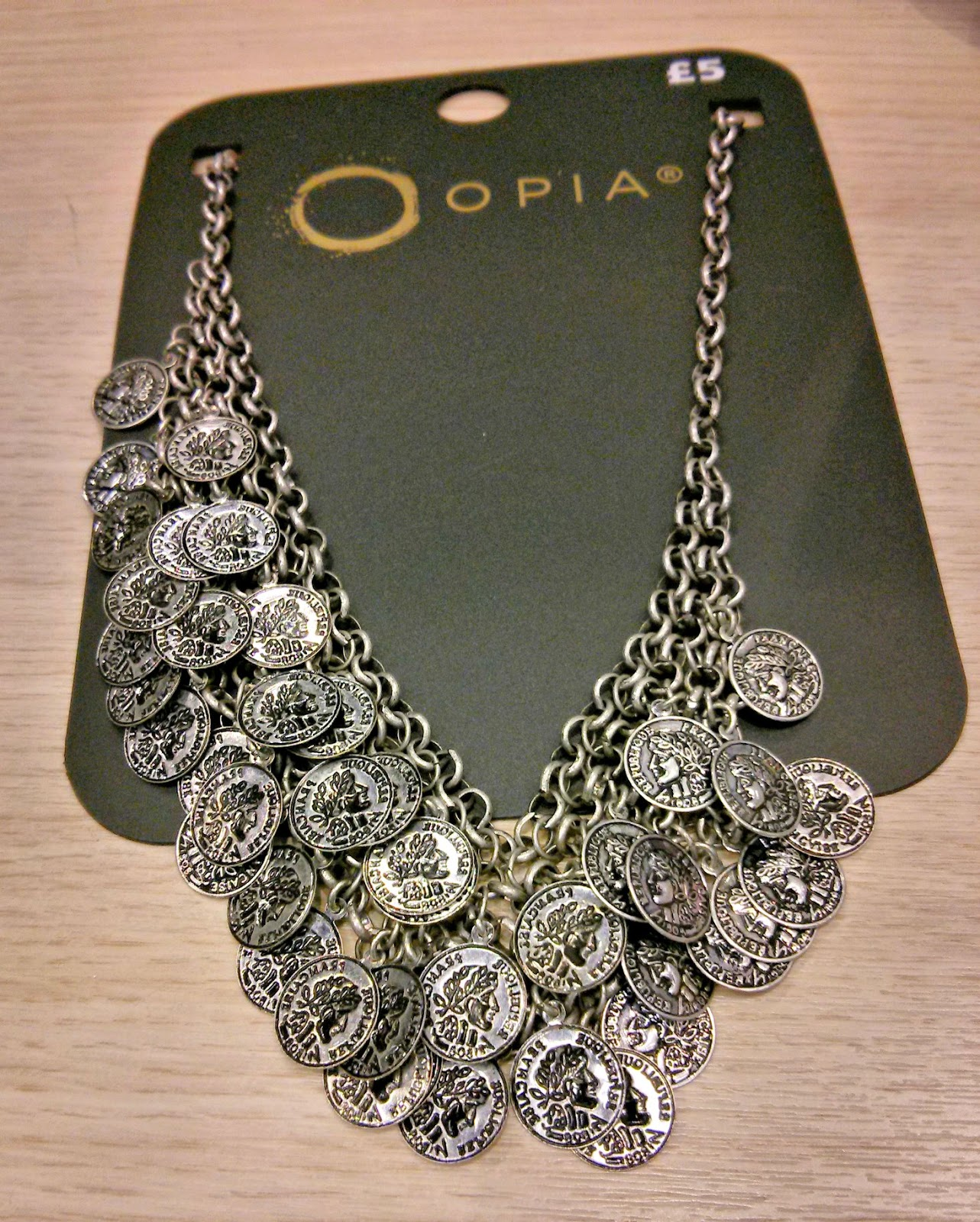 Primark Coin necklace