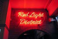 квартал Красных фонарей Амстердам Голландия