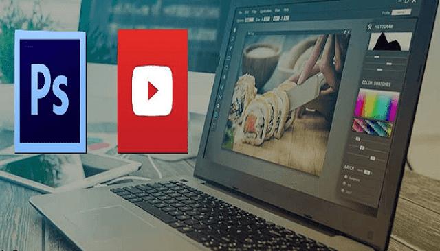 إليك أفضل 4 قنوات أجنبية مشهورة على يوتيوب لسنة 2018 لتعلم دروس الفوتوشوب