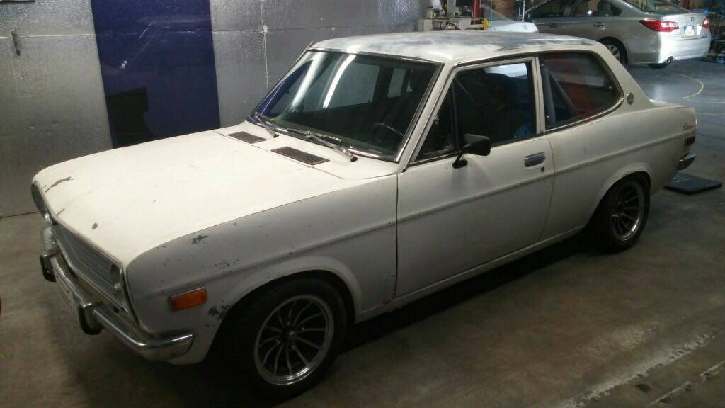 Daily Turismo: SR20 Power: 1971 Datsun 1200 B110