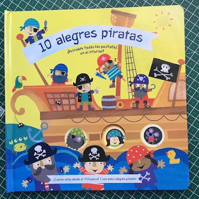 10 alegres piratas, picarona, rebecca weerasekera, jayne schofield, album ilustrado,