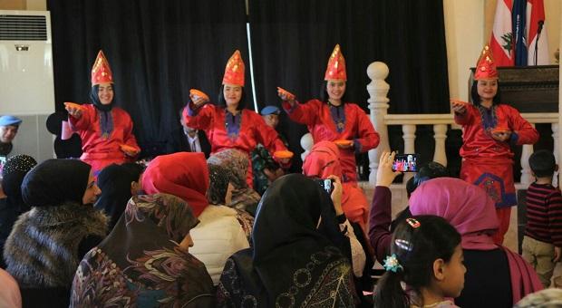Prajurit Wanita TNI Peringati Women's Day di Lebanon