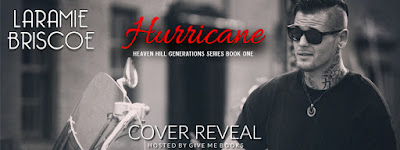 Cover Reveal // Hurricane by Laramie Briscoe