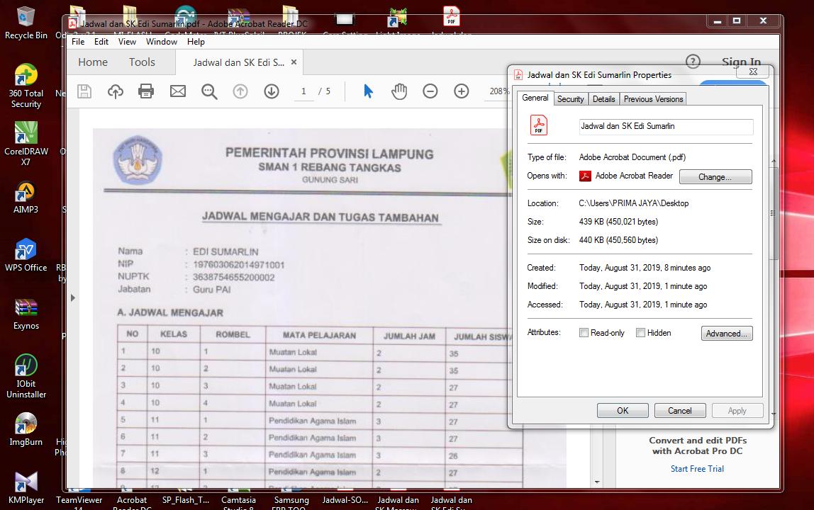Multi Page Size PDF