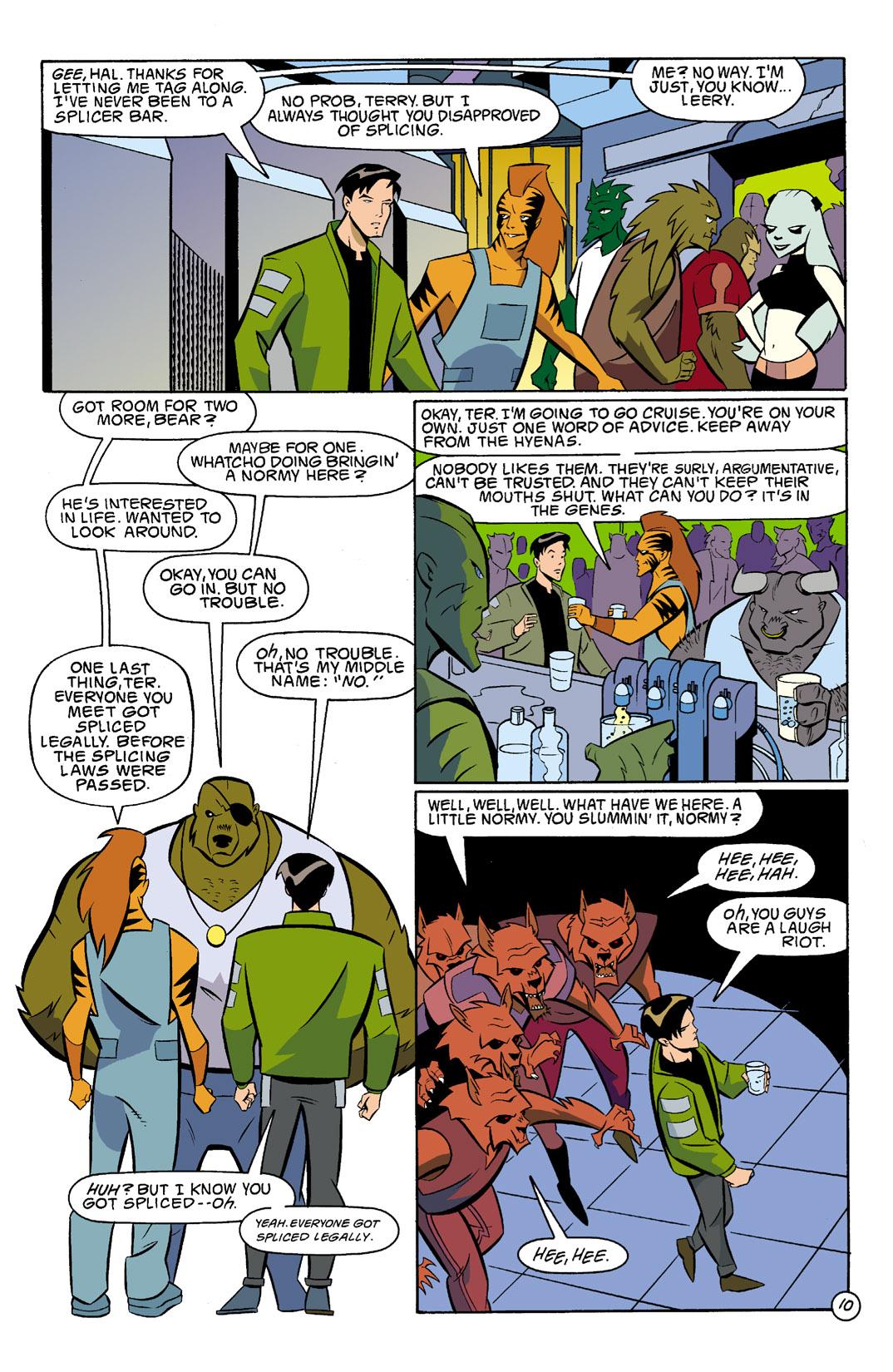 Batman Beyond [II] Issue #3 #3 - English 11