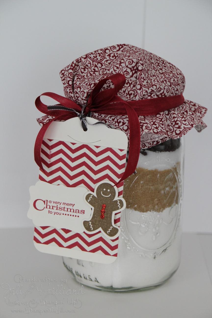 Fabric Day 4 The Gift Jar Jill S Card Creations
