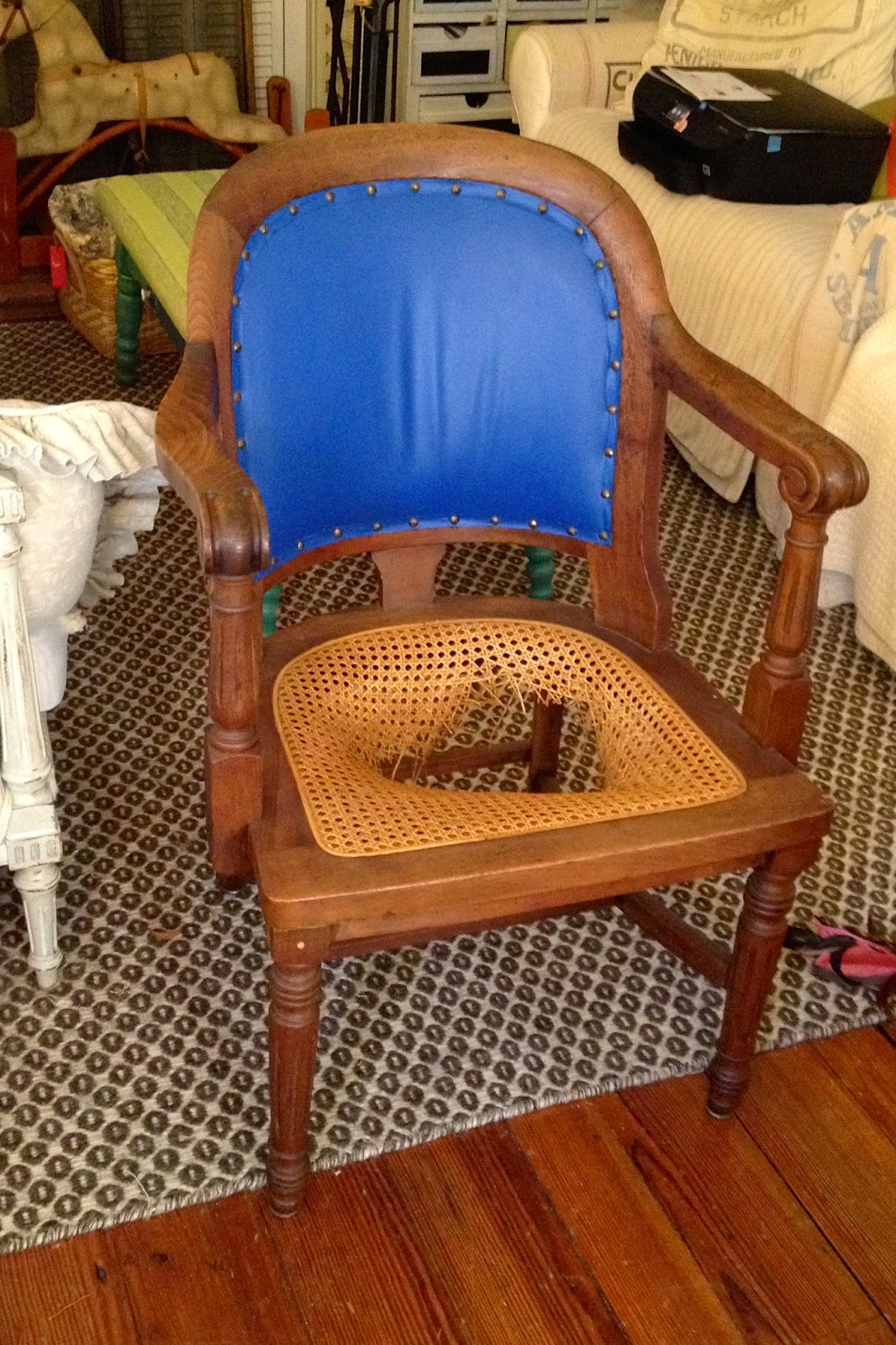 How To Recane A Chair Counter Height Upholstered Chairs Sheshe The Home Magician Fix With
