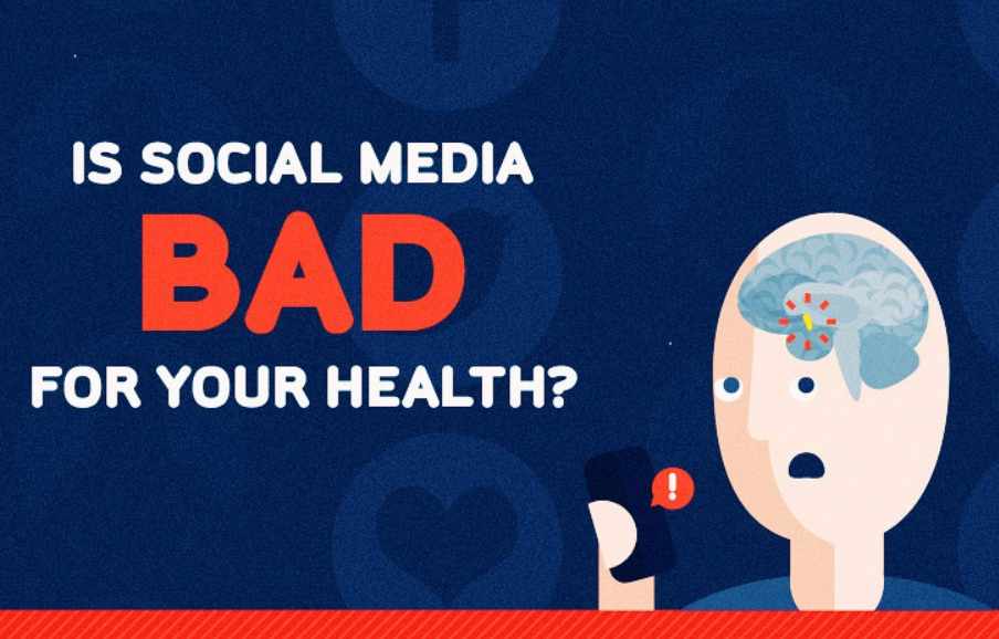Does Social Media Affect Your Mental Health - infographic