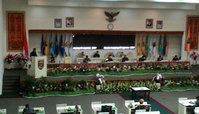 Pandangan Badan Pembentukan Peraturan Daerah DPRD Provinsi Lampung Telah Disampaikan