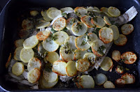 OVEN-BAKED JOHN DORY WITH POTATOES