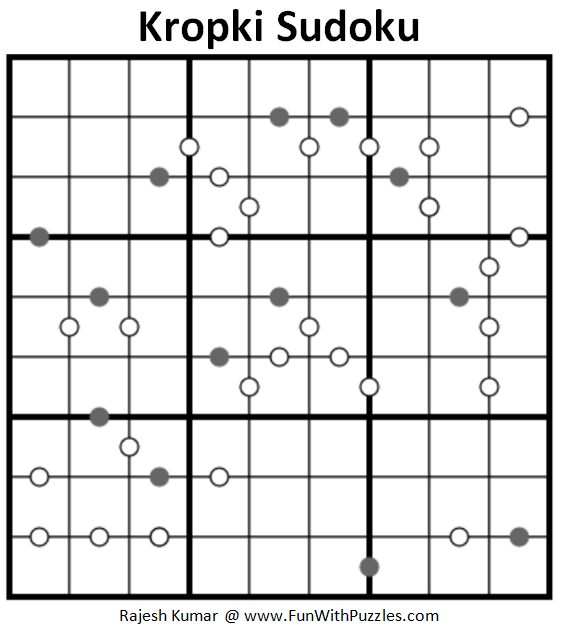 Kropki Sudoku (Fun With Sudoku #197)
