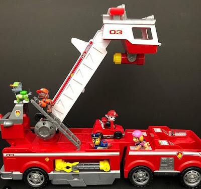 Пожарная машинка из Щенячего патруля