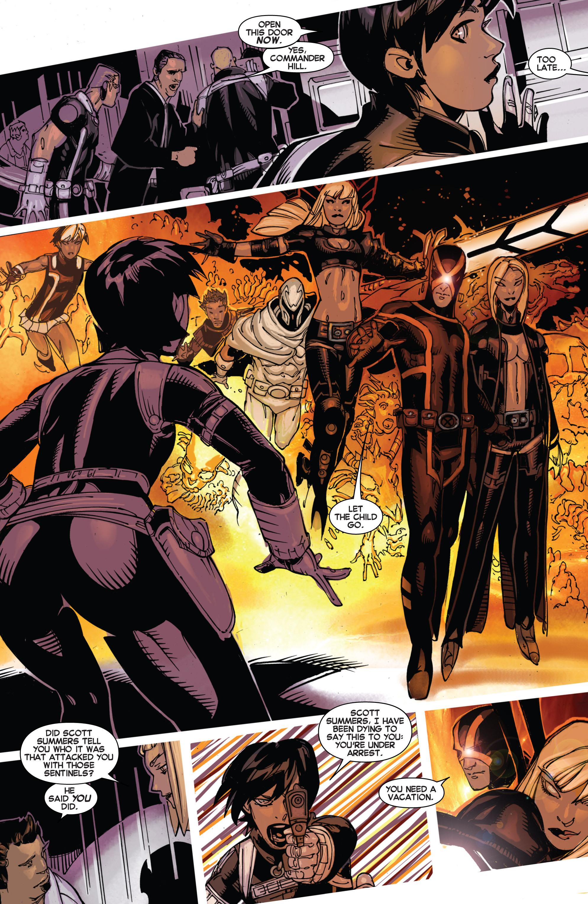 Read online Uncanny X-Men (2013) comic -  Issue #9 - 12