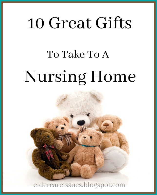 10 gifts you should absolutely take to a nursing home