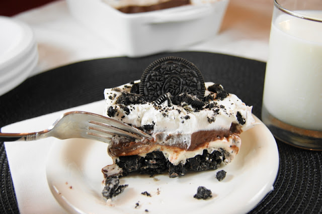 No-Bake Oreo Icebox Dessert picture