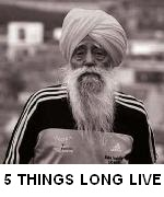 5 THINGS FOR LONG LIVE