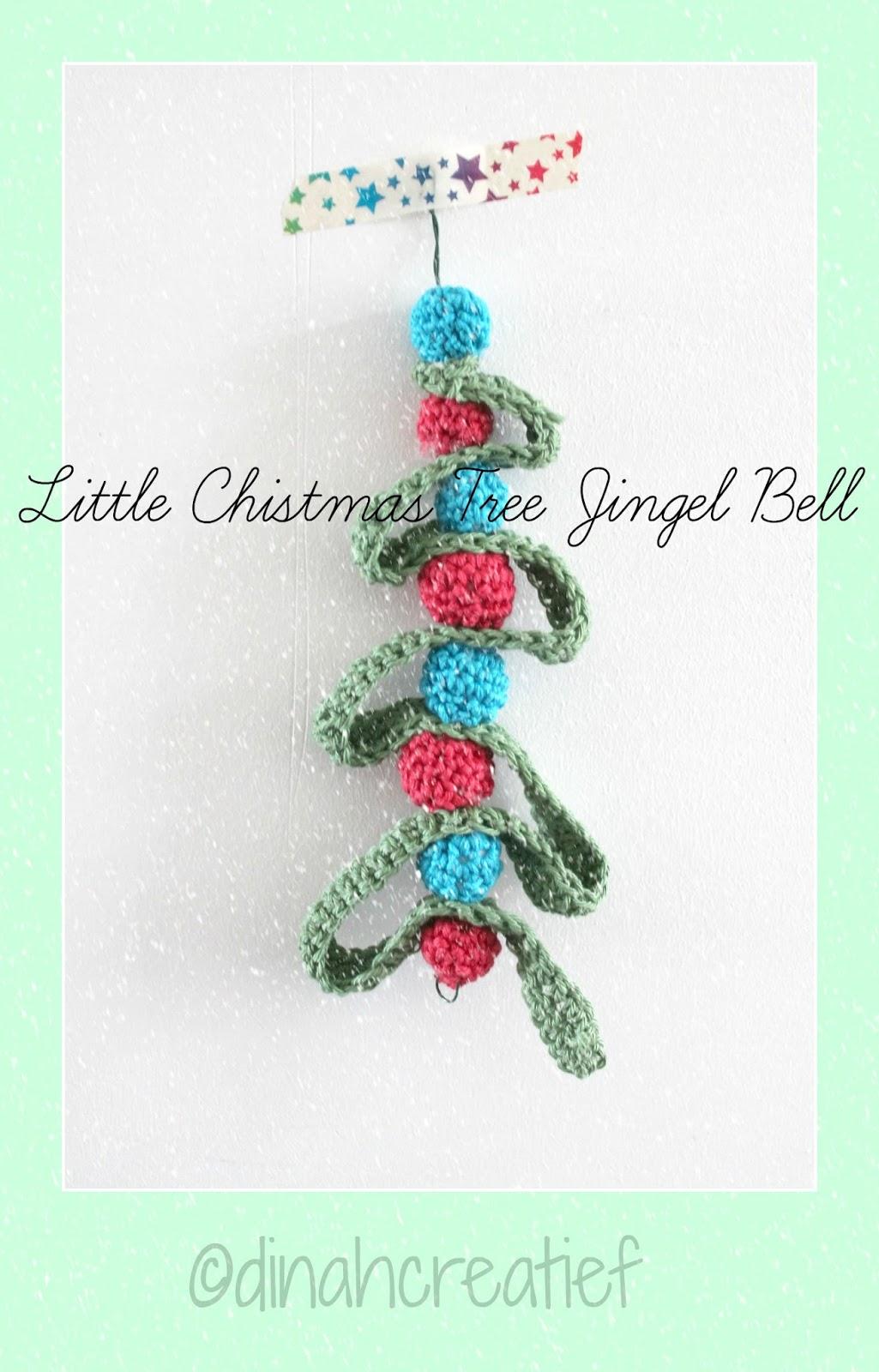 Dinah Creatief Little Christmas Tree Jingel Bell Nr 5