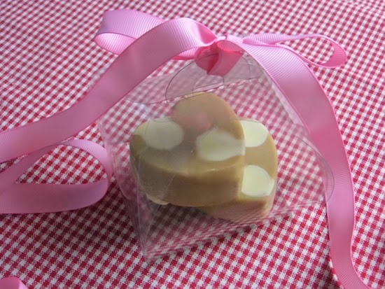 Heart Shape Fudge