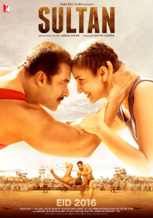 Poster of Sultan 2016 Full Hindi BRRip 720p Movie Download worldfree4u