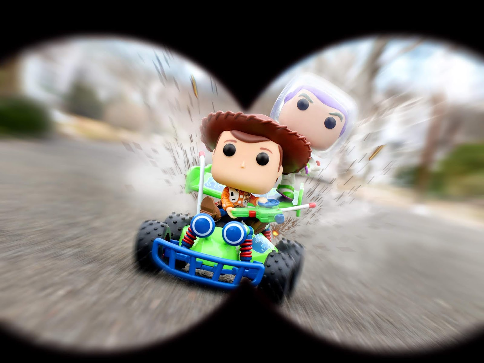 funko pop rides woody and RC