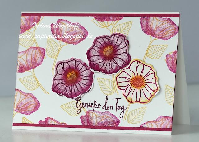 Bunte Vielfalt | papiertier Indina | Stampin' Up! | Orchideenzweig | Oh So Eclectic