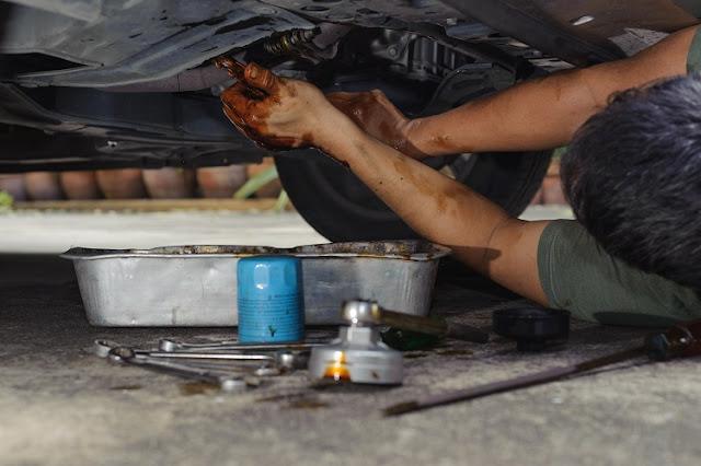 DIY car repair