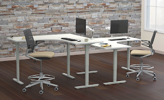 Mayline ML Height Adjustable Tables