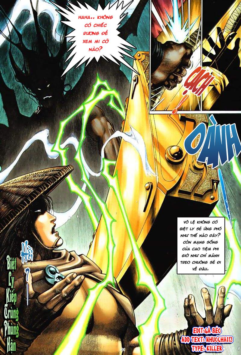 Anh hùng vô lệ Chap 6: Anh hùng hữu lệ trang 31