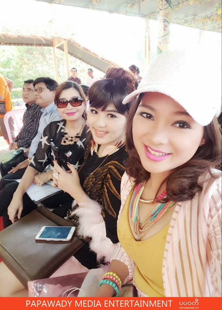 Moe Yu San's Thingyan Fashion and Snapshot Photos Day 2 & 3 in Nay Pyi Daw