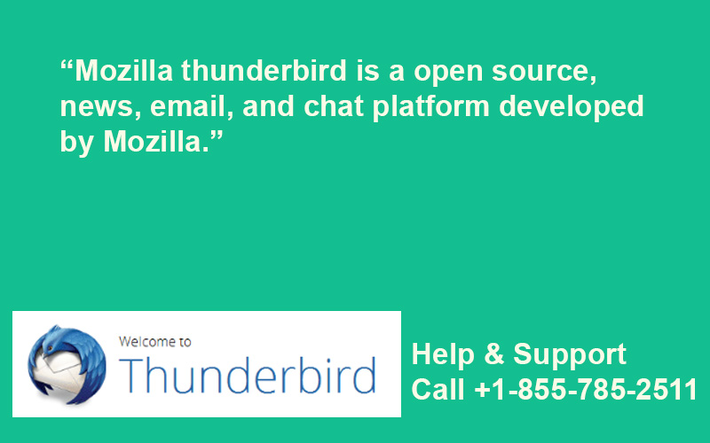 Mozilla ThunderBird Email Support | 1-855-785-2511 | Mozilla