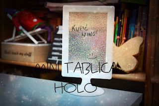 Mini tablica holo DIY