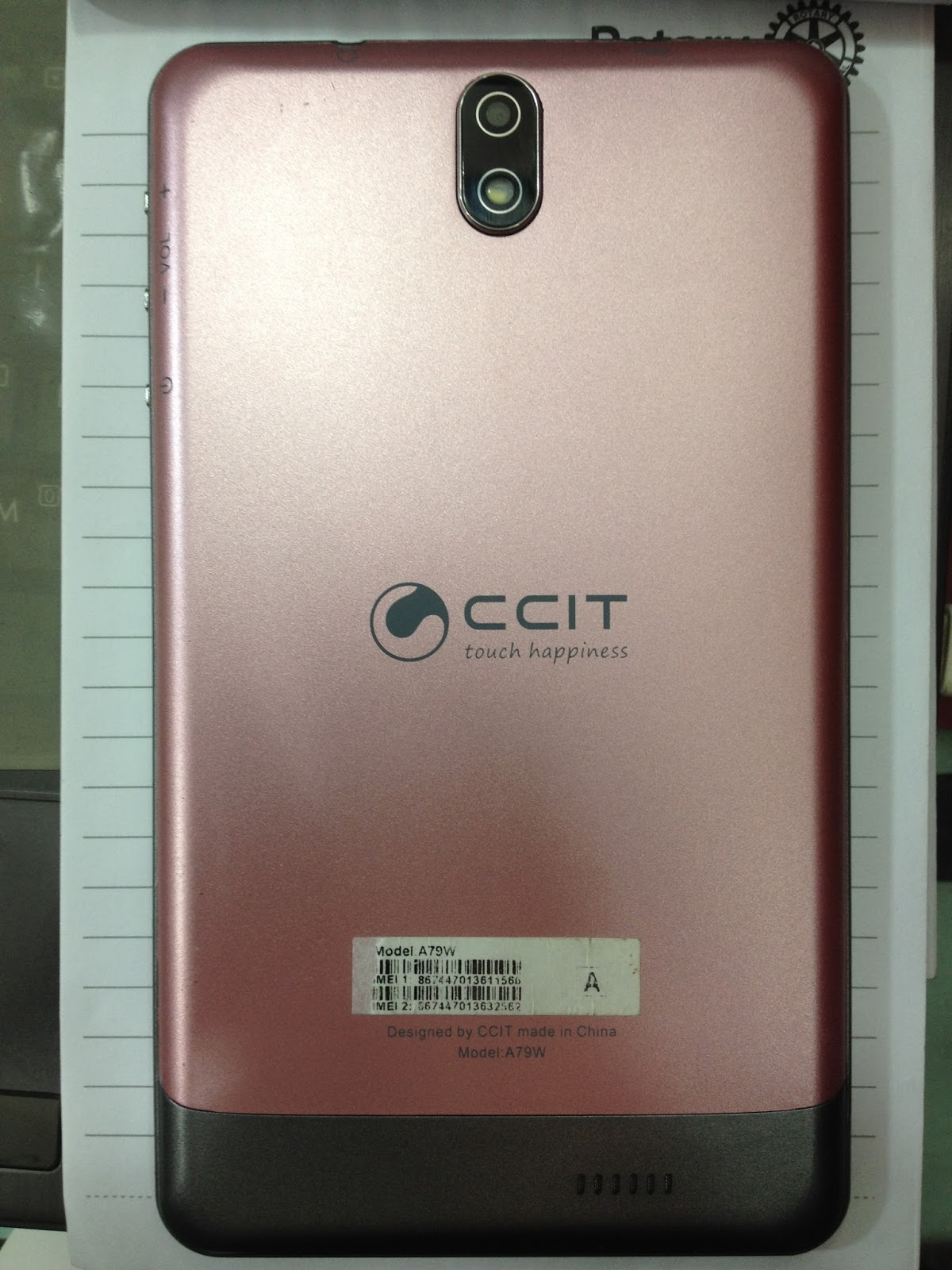 CCiT A79w Tab Flash File Firmware Mt6572 6 0