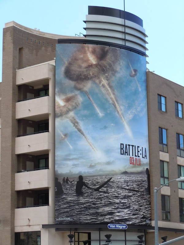Battle LA surfers billboard