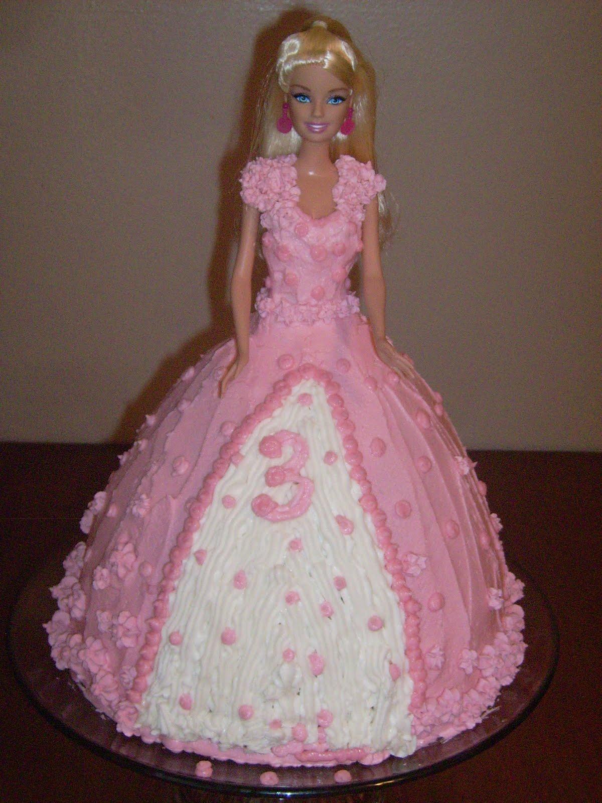 Talented Terrace Girls Wild Card Wednesday Barbie Birthday Cake